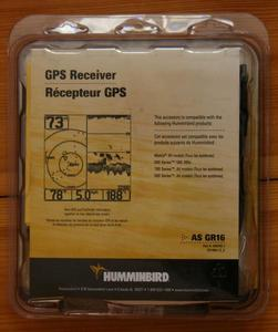 Antena GPS do echosond Humminbirda AS GR16